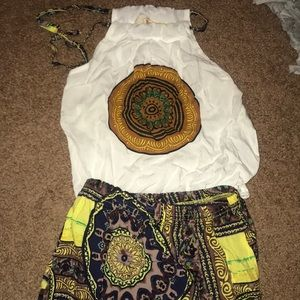 Other - Toddler bohemian outfit